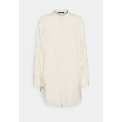 マルコポーロ シャツ レディース トップス BLOUSE LONG SLEEVE - Button-down blouse - raw cream
