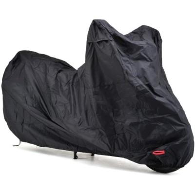 デイトナ D98202 バイクカバー SIMPLE ブラック L 耐熱パッド付属 撥水コーティングオックス生地 150デニール