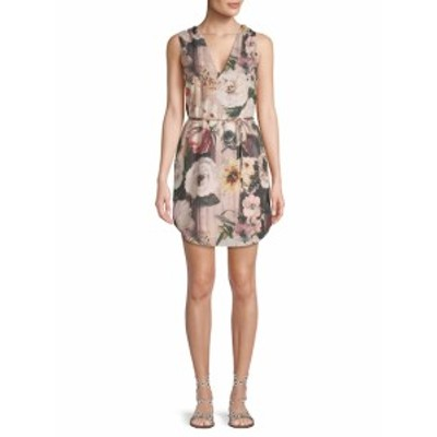 オートヒッピー レディース ワンピース Floral Tie Dress