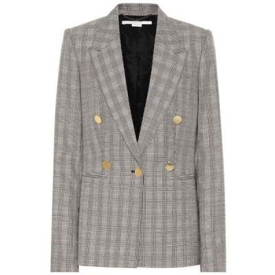 ステラ マッカートニー Stella McCartney レディース スーツ・ジャケット アウター Checked Wool Blazer Black