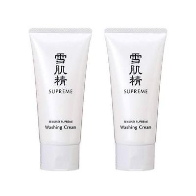コーセー 雪肌精 シュープレム 洗顔クリーム 140g ×2個セット