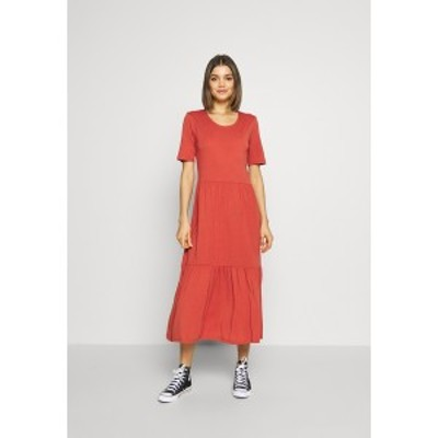 ジェイディーワイ レディース ワンピース トップス JDYDALILA FROSTY DRESS - Maxi dress - hot sauce hot sauce