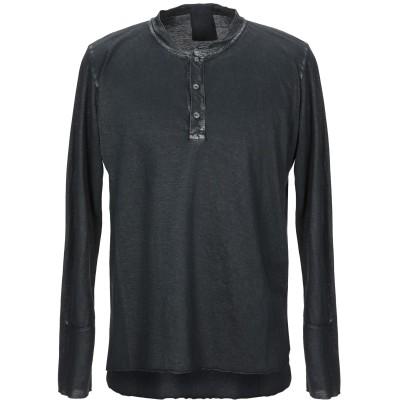 CROSSLEY T シャツ スチールグレー XS コットン 100% T シャツ