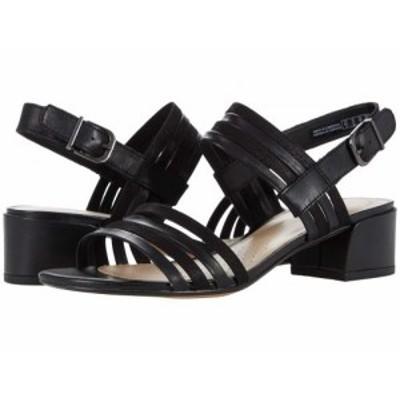 Clarks クラークス レディース 女性用 シューズ 靴 ヒール Caroleigh Bess Black Leather Combi【送料無料】