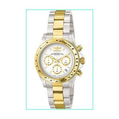 Invicta 9212 Mens Two Tone Stainless Steel Speedway Diver Chronograph White Dial Watch並行輸入品