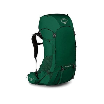 Osprey Men's Rook 50 Ventilated Backpacking Pack- Mallard Green [並行輸入品] 並行輸入品