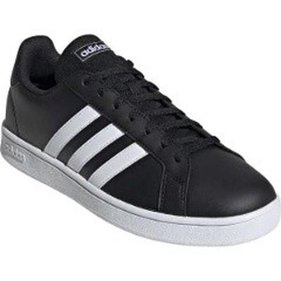 アディダス ADIDAS GRANDCOURT BASE [サイズ:24.0cm] [カラー:コアブラック×ランニングホワイト] #EE7900 靴