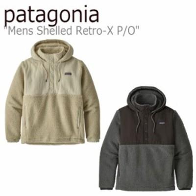 パタゴニア パーカ patagonia Mens Shelled Retro-X P/O メンズ シェルド レトロX プルオーバー PELICAN FORGE GREY 22880L7 ウェア