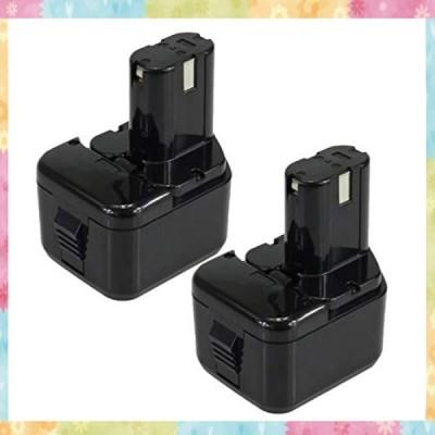 日立 EB1212S EB1214S BCC1215 12v 3000mAh 2個セット 互換バッテリー EB1214L EB1220BL EB1230HL EB1230R EB1230X EB1233X 対応 ニッケル