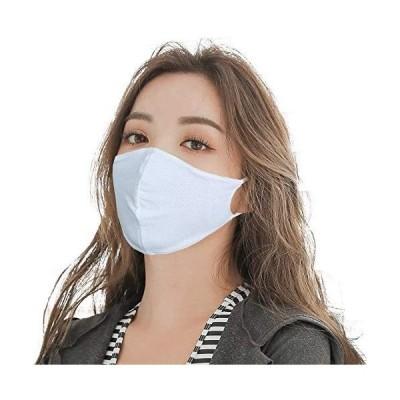 マスク 水着素材( 3枚組 Lサイズ 標準 男女 大人の方向け )ひんやり 涼しい 接触冷感 夏 夏用マスク 洗濯 洗える 水着 マスク (女性用)