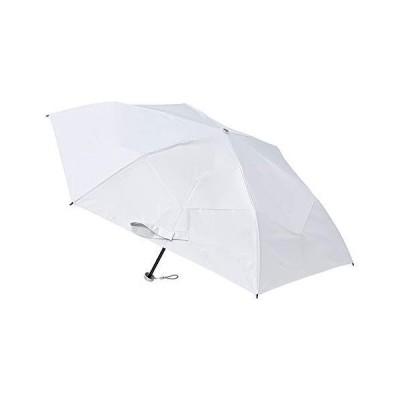 [ムーンバット] urawaza(ウラワザ) 折りたたみ日傘 無地 オフホワイト 白 50cm 【3秒で折りたためる傘】【軽量 グラ