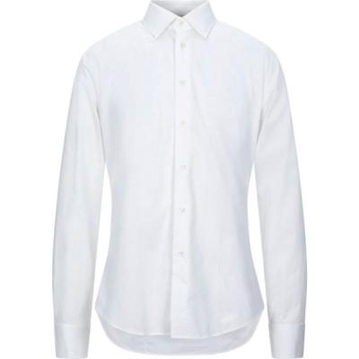 ブライアン デールズ BRIAN DALES メンズ シャツ トップス Striped Shirt White