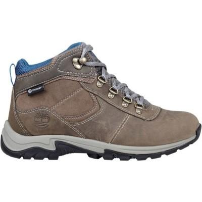 ティンバーランド Timberland レディース ハイキング・登山 ブーツ シューズ・靴 Mt. Maddsen Mid Leather Waterproof Hiking Boots Medium Grey