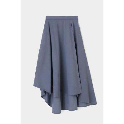 PLATE スカート BLU