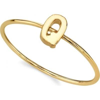 2028 ユニセックス 指輪・リング ジュエリー・アクセサリー 14K Gold Dipped Initial Ring