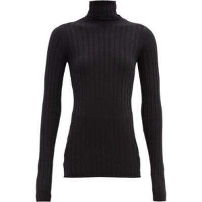 ペーター ペトロフ Petar Petrov レディース ニット・セーター トップス Karen roll-neck merino-wool sweater Black
