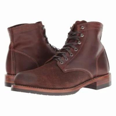 ウルヴァリン ブーツ 1000 Mile 6 Evans Boot Dark Brown Leather/Suede