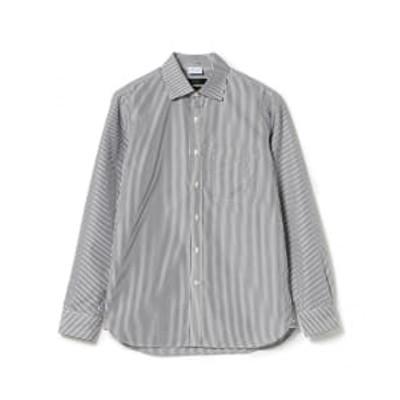 【アウトレット】BEAMS LIGHTS / OUTLAST(R) ロンドンストライプ レギュラーカラーシャツ