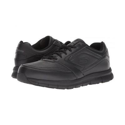 SKECHERS Work スケッチャーズ メンズ 男性用 シューズ 靴 スニーカー 運動靴 Nampa - Black