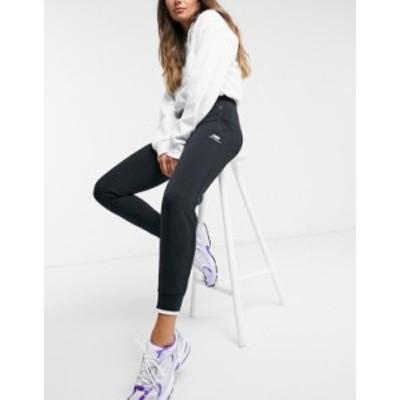 ニューバランス レディース カジュアルパンツ ボトムス New Balance wide leg sweatpants in black Bk1 - black 1
