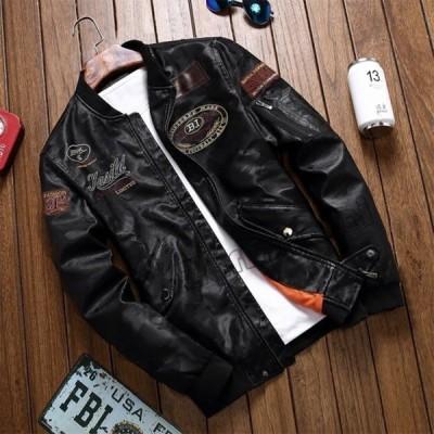 革ジャン バイクジャケット ライダースジャケット ブルゾン