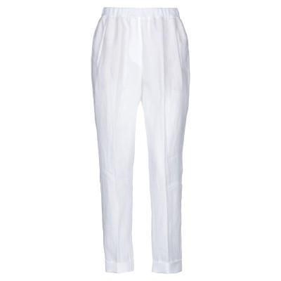 LE TRICOT PERUGIA パンツ ホワイト 40 リネン 100% / コットン パンツ