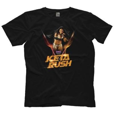 WOW(Women Of Wrestling)Tシャツ「WOW ウーマン・オブ・レスリング KETA RUSH Tシャツ」 米直輸入女子プロレスTシャツ《日本未発売品》