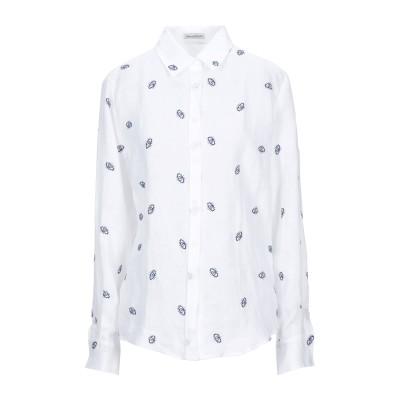 CAMICETTASNOB シャツ ホワイト 42 リネン 100% シャツ