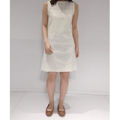 レディース シャルル シャトン crochet mini dress ナチュラル フリー
