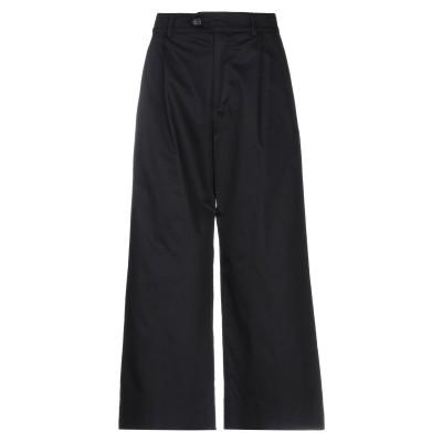 マウロ グリフォーニ MAURO GRIFONI パンツ ブラック 44 コットン 97% / ポリウレタン 3% パンツ