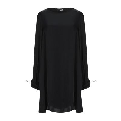 ラブ モスキーノ LOVE MOSCHINO ミニワンピース&ドレス ブラック 40 レーヨン 100% ミニワンピース&ドレス