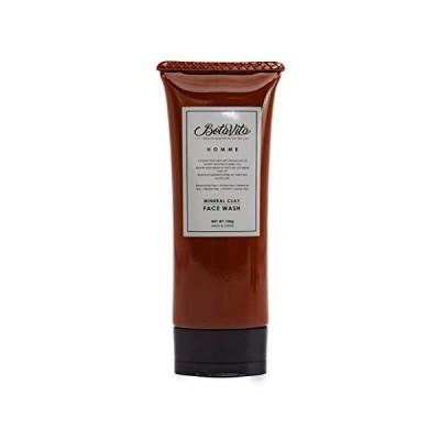 BotaVita HOMME メンズスキンケア ミネラルクレイフェイスウォッシュ<洗顔料>100g 洗顔 濃密泡 ダブルクレイ 角質ケア