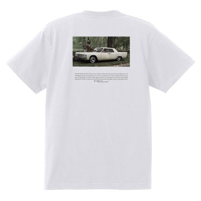 アドバタイジング リンカーンTシャツ 白 1313 黒地へ変更可 レトロ 1969 1968 コンチネンタル マーク3 マークIII スーイサイドドア