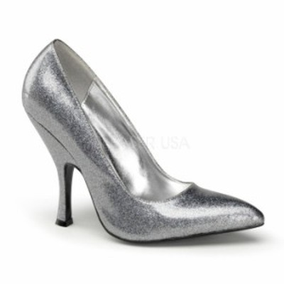 取寄 靴 送料無料 PLEASER プリーザー パンプス 11.5cmヒール 大きいサイズあり イベント セクシー サンタ 女装 パーティ- クリスマス コ
