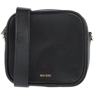 MIA BAG 肩掛けバッグ ブラック 革 肩掛けバッグ