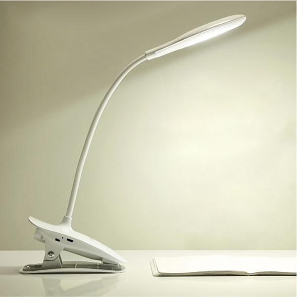 環形觸控LED夾燈-白-生活工場