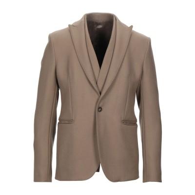 エンポリオ アルマーニ EMPORIO ARMANI テーラードジャケット キャメル 48 100% バージンウール テーラードジャケット