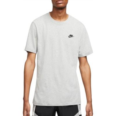 ナイキ Nike メンズ Tシャツ トップス Sportswear Club T-Shirt Dark Grey Heather