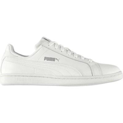 プーマ Puma メンズ スニーカー シューズ・靴 Smash Trainers White/White