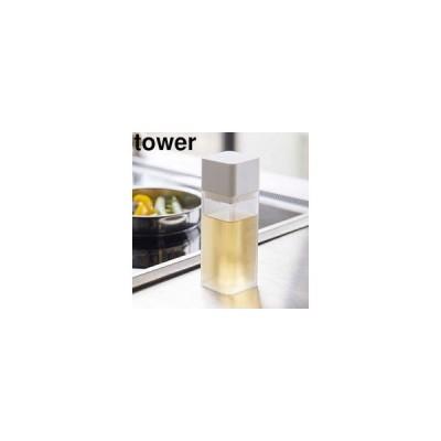 YAMAZAKI 山崎実業  詰め替え用調味料ボトル タワー ホワイト
