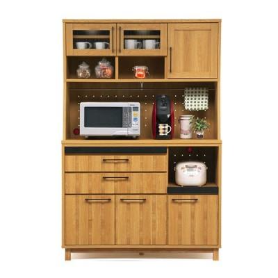 レンジ台 レンジボード キッチン収納 収納家具 木製 完成品 幅120cm 【開梱設置付き】