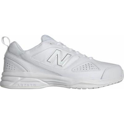ニューバランス メンズ スニーカー シューズ Men's New Balance MX623v3 Training Shoe White