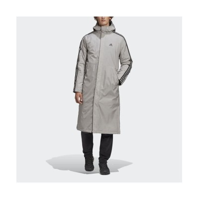 【アディダス】 ライト インサレーテッドコート / Light Insulated Coat メンズ グレー XS adidas