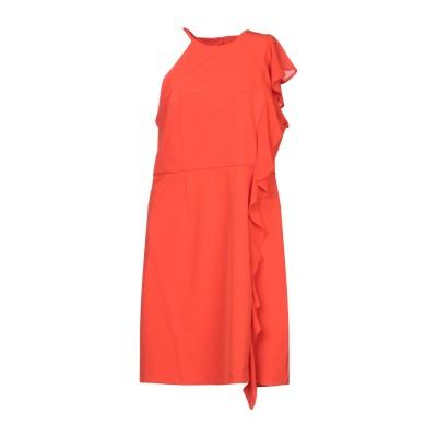 アンナリータ エンネ ANNARITA N ミニワンピース&ドレス オレンジ 46 ポリエステル 95% / ポリウレタン 5% ミニワンピース&ド