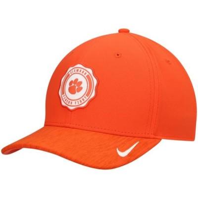 ユニセックス スポーツリーグ アメリカ大学スポーツ Clemson Tigers Nike Holiday Performance Adjustable Hat - Orange - OSFA 帽子