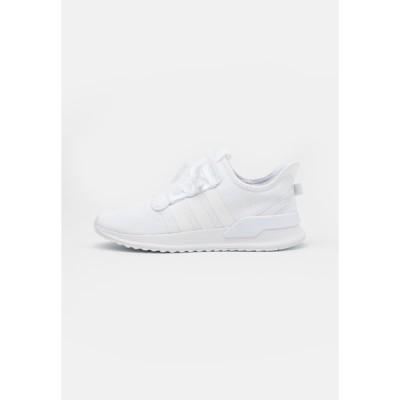 アディダスオリジナルス スニーカー メンズ シューズ PATH RUN UNISEX - Trainers - footwear white