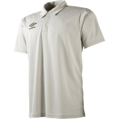 (アンブロ)UMBRO サッカー ドライ半袖ポロシャツ UBS7601 [メンズ] SLV XO