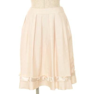 トゥービーシック スカート 裾ストーン フレアー 38