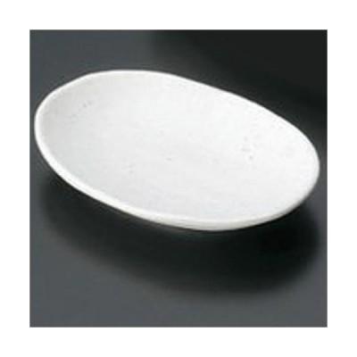 マイン メラミン食器 メラミンウェア 小判皿 小 白 M11-114