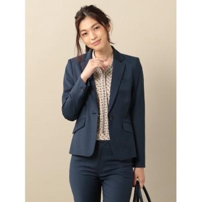 Perfect Suit FActory / インポート【YUNSA】ストレッチ ジャケット チェック WOMEN ジャケット/アウター > テーラードジャケット